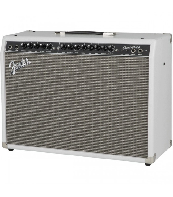 fender champion 100w 2x12 combo electric guitar amplifier w effects tap speed delay. Black Bedroom Furniture Sets. Home Design Ideas