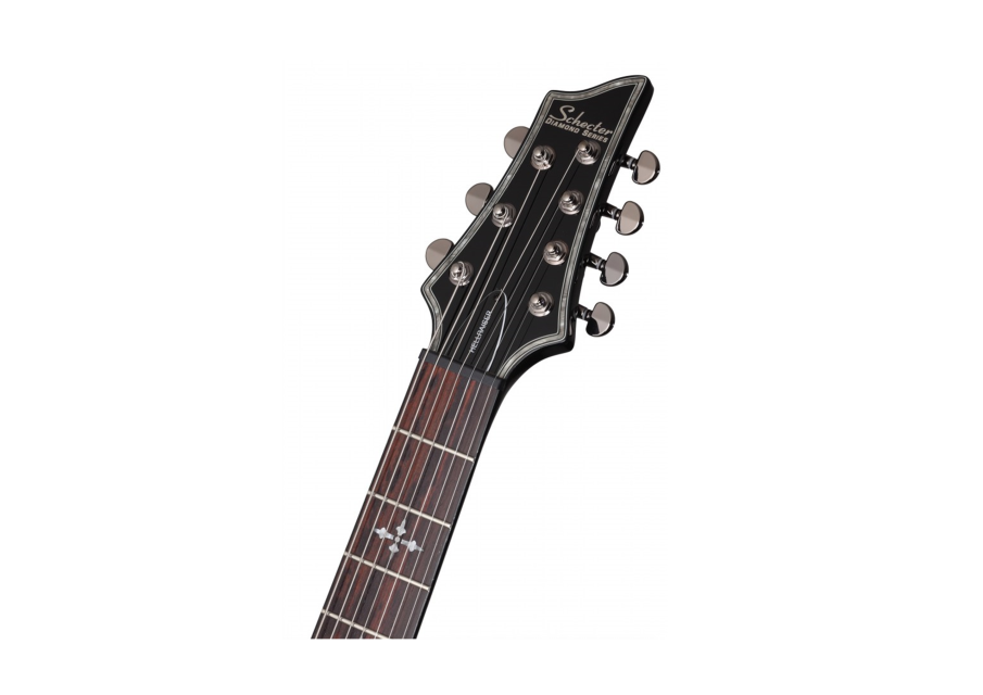 schecter guitar research diamond series hellraiser c 7 black 7 string electric guitar free. Black Bedroom Furniture Sets. Home Design Ideas